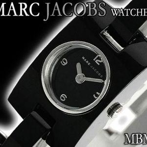 Marc by Marc Jacob Ladies Watch Black Band mbm4509